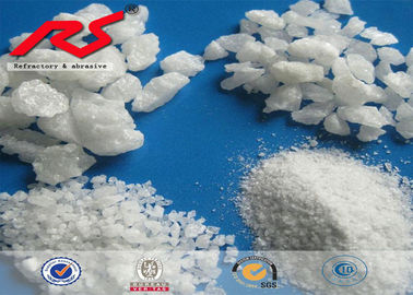 Sandblasting Aluminium Oxide F12 - F36 White Alumina Powder 200mesh-0 Unique Self Sharpening